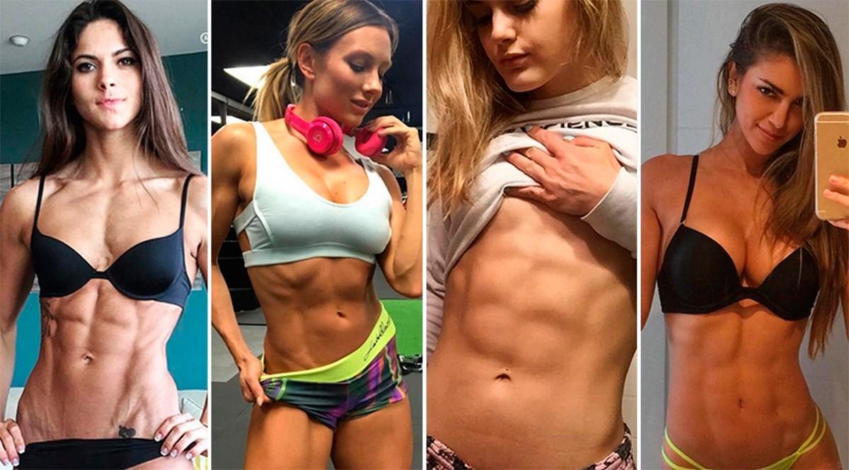 самых привлекательных и вдохновляющих женских фитнес-моделей