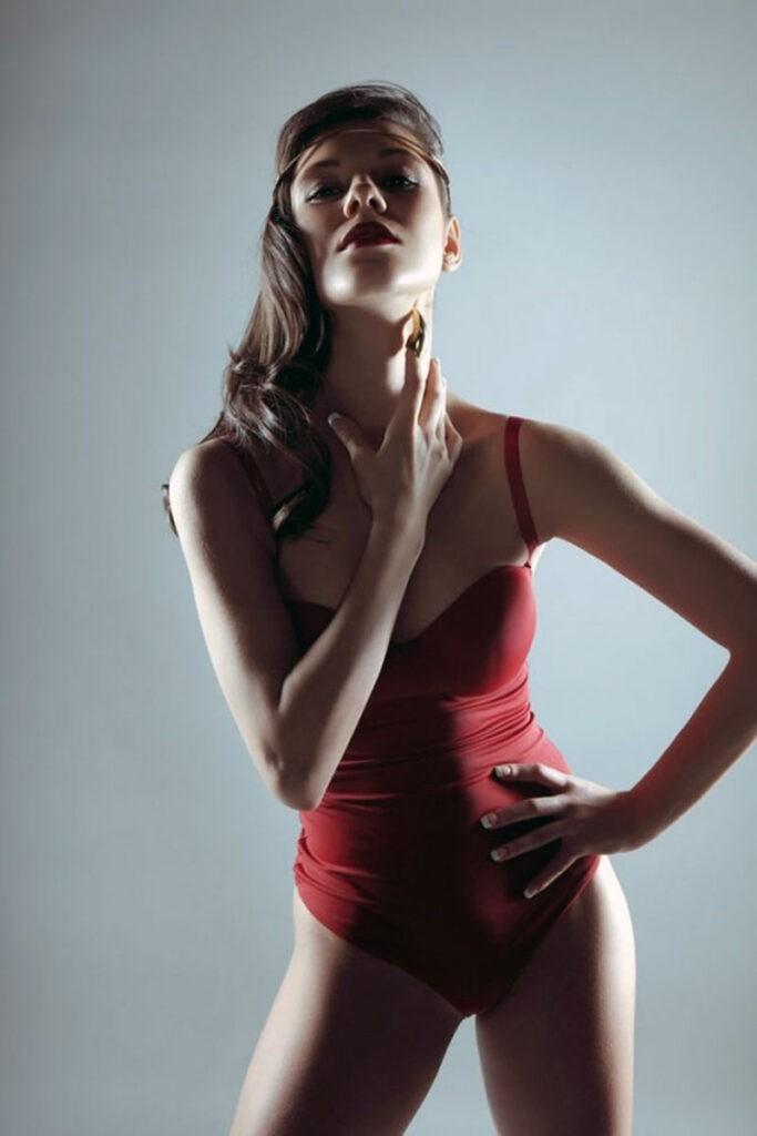 Елена Ильиных с телом фитнес-модели
