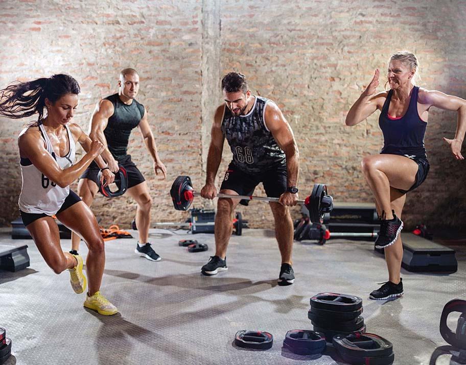 Интервальная тренировка высокой интенсивности