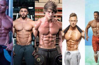 мужские фитнес-модели
