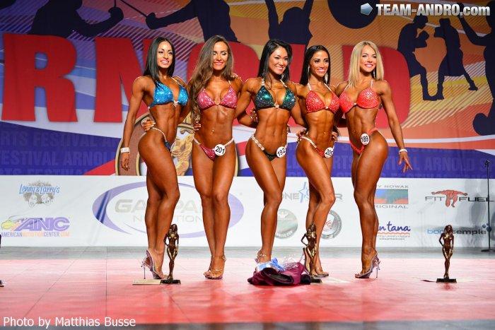 Результаты 2016 Arnold Classic Bikini Amateur
