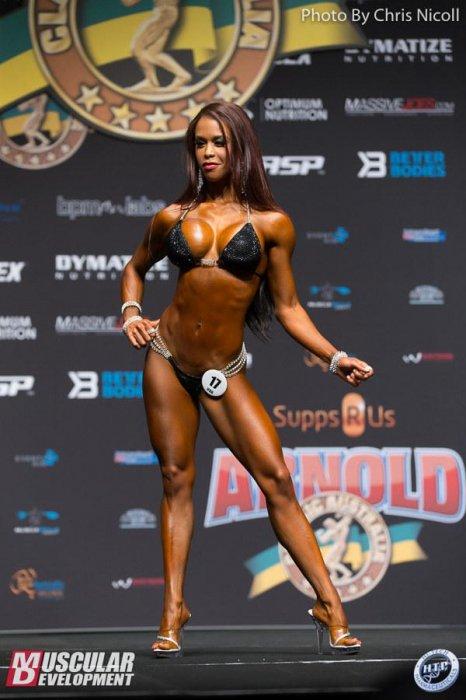 Результаты 2016 Arnold Classic Australia Bikini Pro