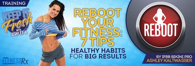 Перезагрузите свой фитнес: 7 советов