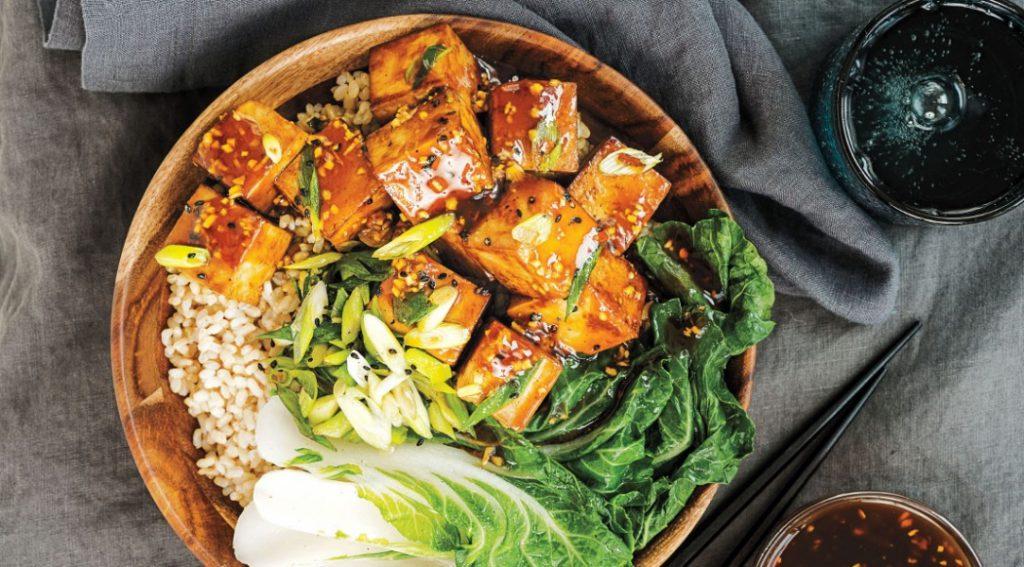 Терияки тофу